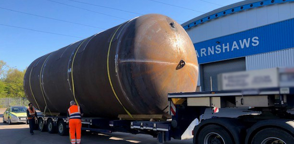 Barnshaws has once again exceeded its limits with the production of the largest welded tank third image