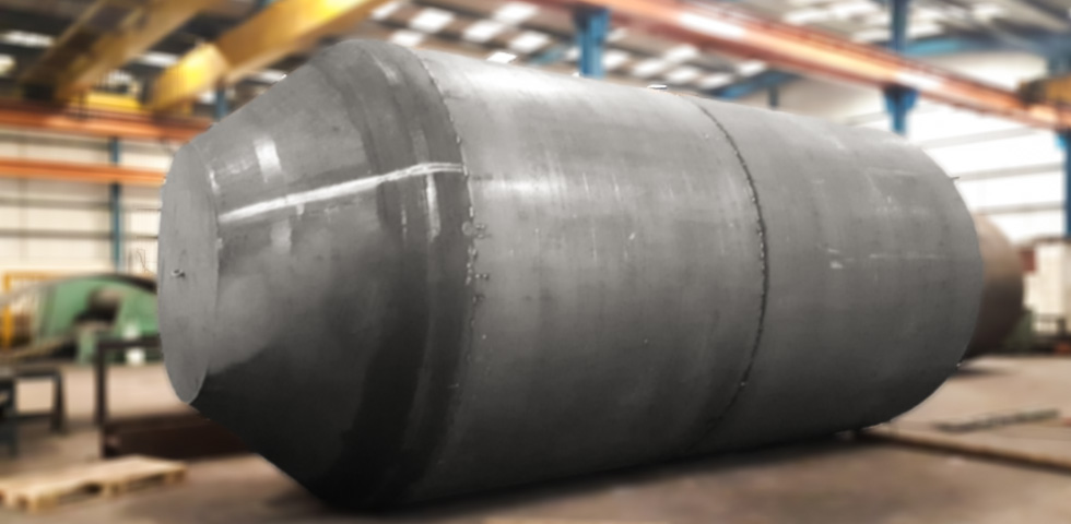 Barnshaws has once again exceeded its limits with the production of the largest welded tank second image