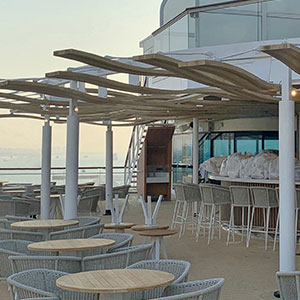 Barnshaws Sections Benders, has supported two cruise liner refurbishment projects to support contractor Leisure Structures