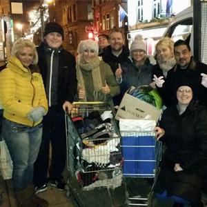 Barnshaws support for the homeless