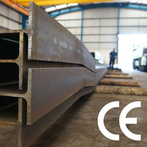 The European Standard BS EN 1090 states that all steelwork supplied in the UK and Republic of Ireland must display the CE mark.