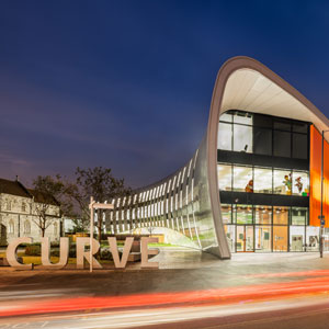 Barnshaws Section Benders has provided curved steel to support The Curve, the new cultural and learning centre