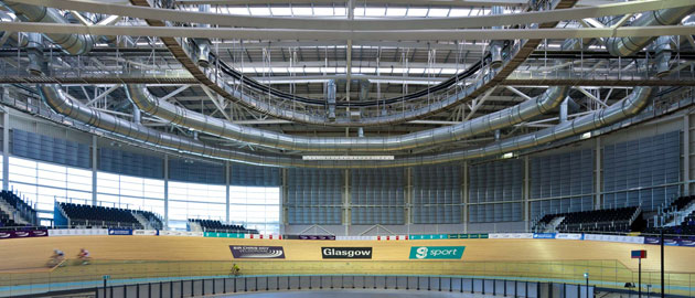 The Chris Hoy Velodrome in Glasgow