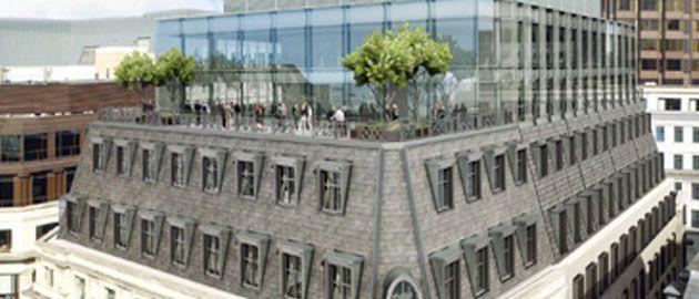 Moorgate building redevelopment