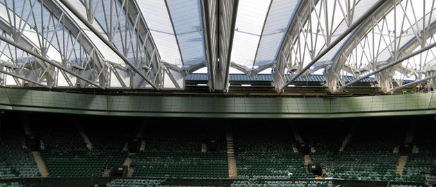 New Wimbledon roof